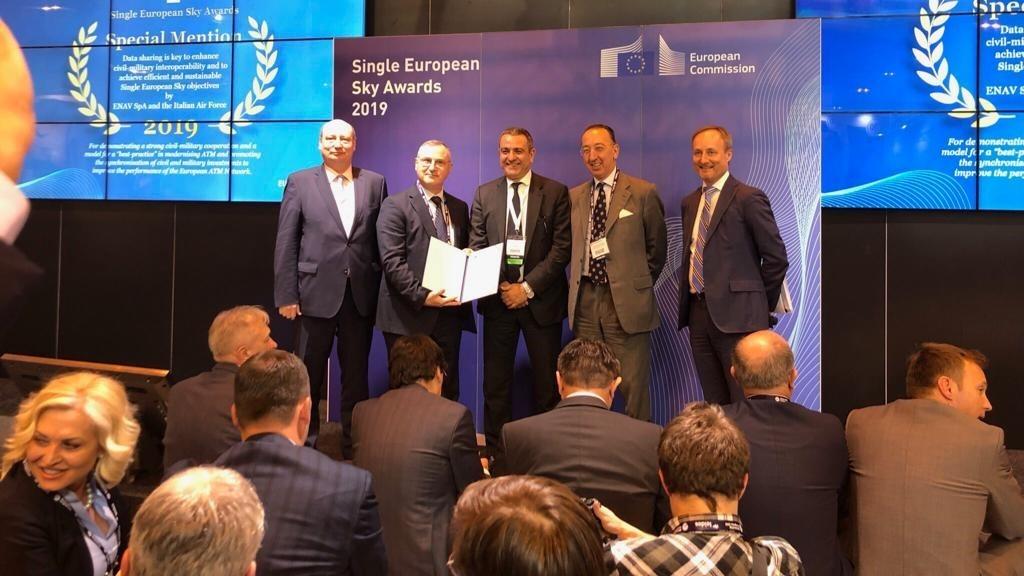 Cielo Unico Europeo: Riconoscimento a progetto AM/ENAV