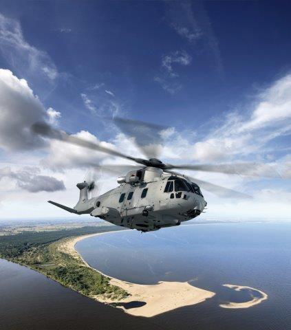 Contratto da 380 milioni di euro a Leonardo per gli elicotteri navali AW101 polacchi