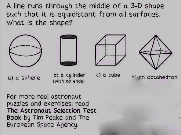 Vuoi diventare astronauta? Devi riuscire a risolvere questi 6 enigmi