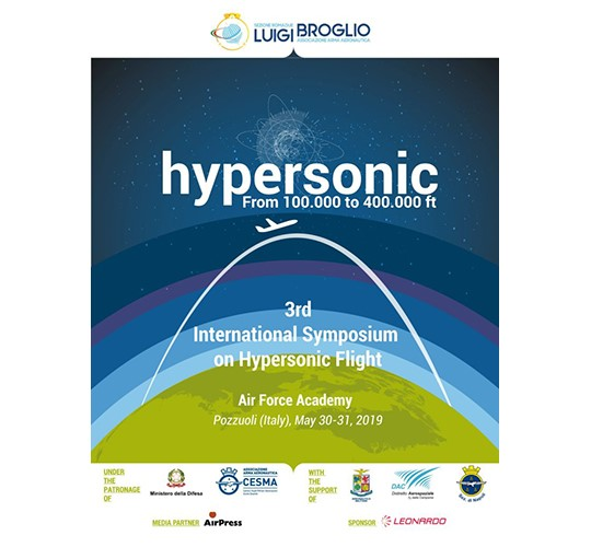 "3rd International Symposium: ""Hypersonic flight: from 100.000 to 400.000 ft"""