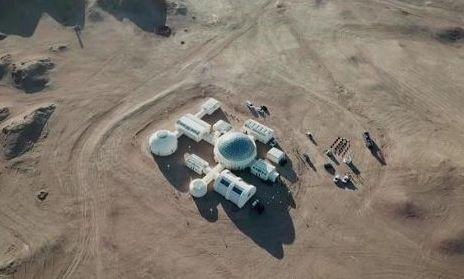 La Cina simula una base marziana nel deserto del Gobi