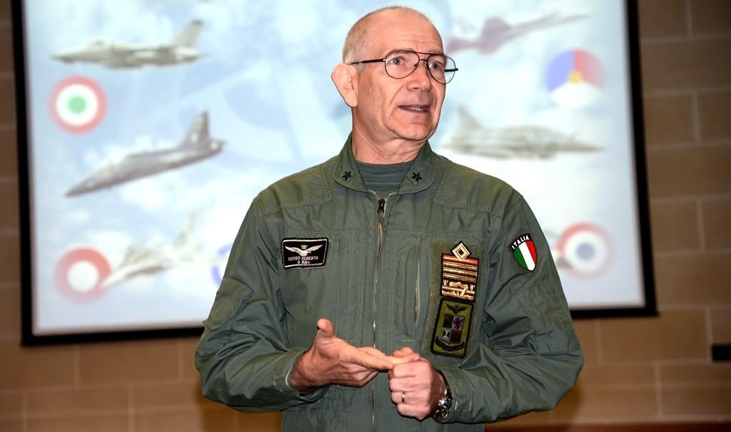 Intervista al Generale Alberto Rosso, Capo di stato Maggiore dell' Aeronautica