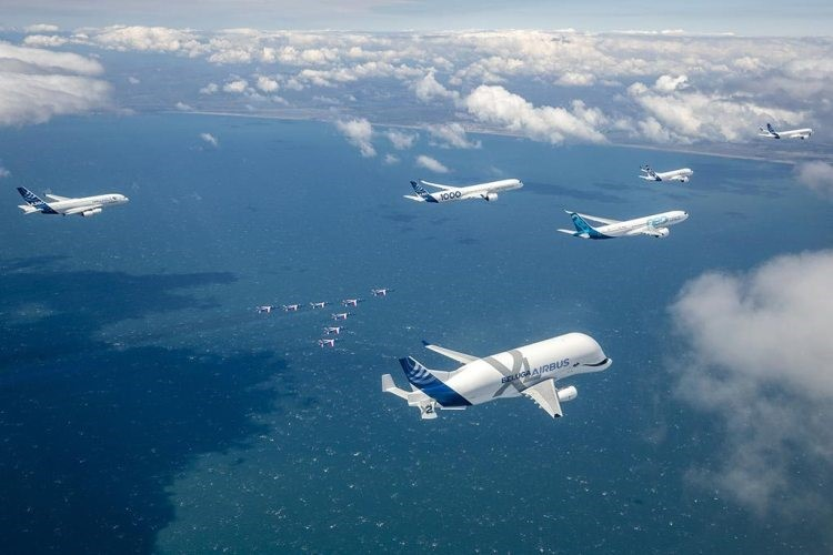 Airbus celebra i suoi primi 50 anni