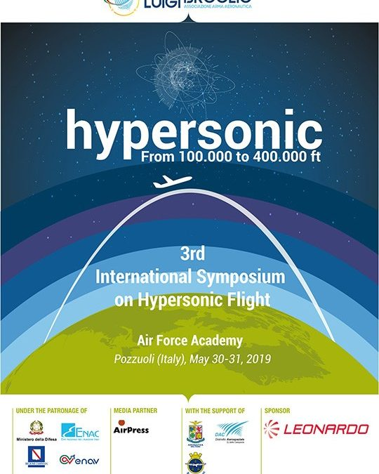 Hypersonicfrom 100.000 to 400.000 ft ,3rd International Symposium on Hypersonic Flight
