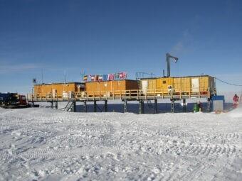 Polvere interstellare nelle nevi dell'Antartide