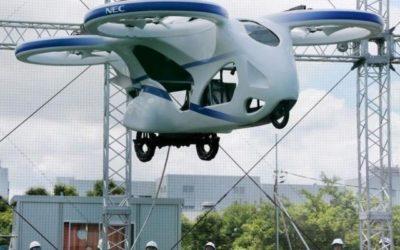 In Giappone sta sfrecciando la prima auto volante funzionante