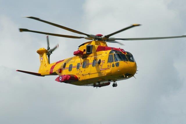 Leonardo e Team Cormorant per l'ammodernamento degli elicotteri EH-101 canadesi