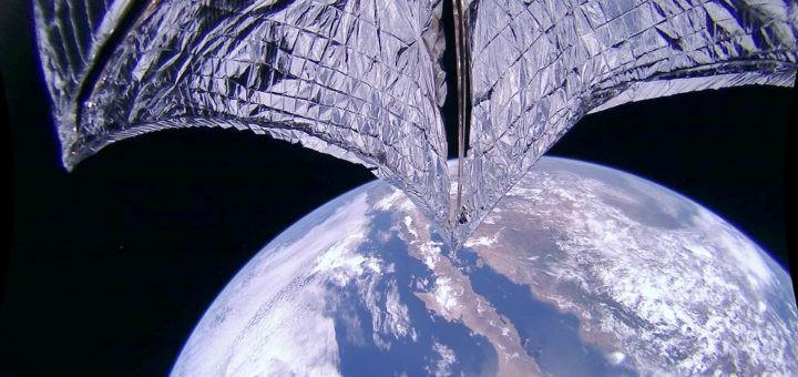 Lightsail2 incrementa l'apogeo con la sua vela solare