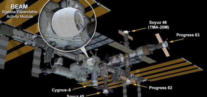 Prorogata la scadenza del modulo BEAM sulla ISS