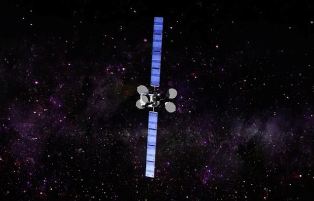 La distruzione del satellite Intelsat 29E