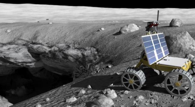 Habitat lunari sotterranei