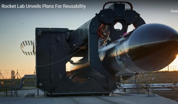 Rocket Lab ha in cantiere un Electron riutilizzabile
