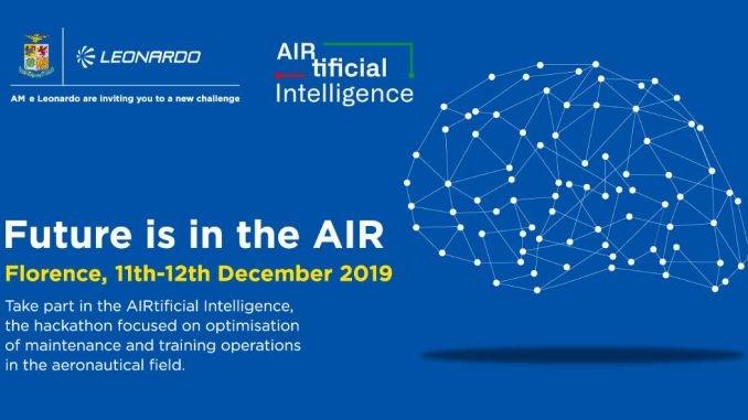 Intelligenza artificiale nell'Aeronautica: al via l'hackathon di Leonardo