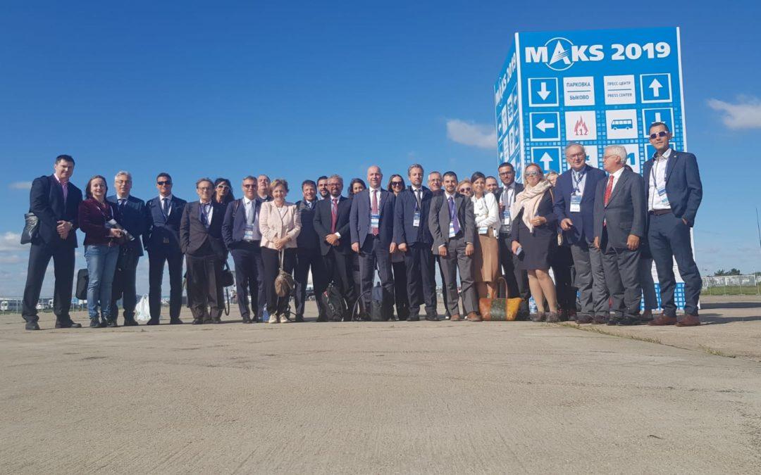 Il Lombardia Aerospace Cluster alla scoperta della Russia