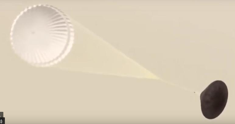 Prove di atterraggio per ExoMars 2020
