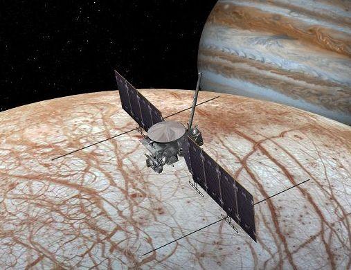 Prima rilevazione diretta di acqua sulla luna di Giove Europa