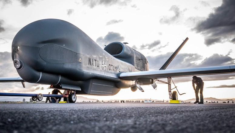 A SIGONELLA ARRIVANO I DRONI AGS DELLA  NATO. ECCO COSA FARANNO