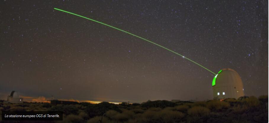 ESA testa un laser per tracciare i detriti spaziali anche di giorno