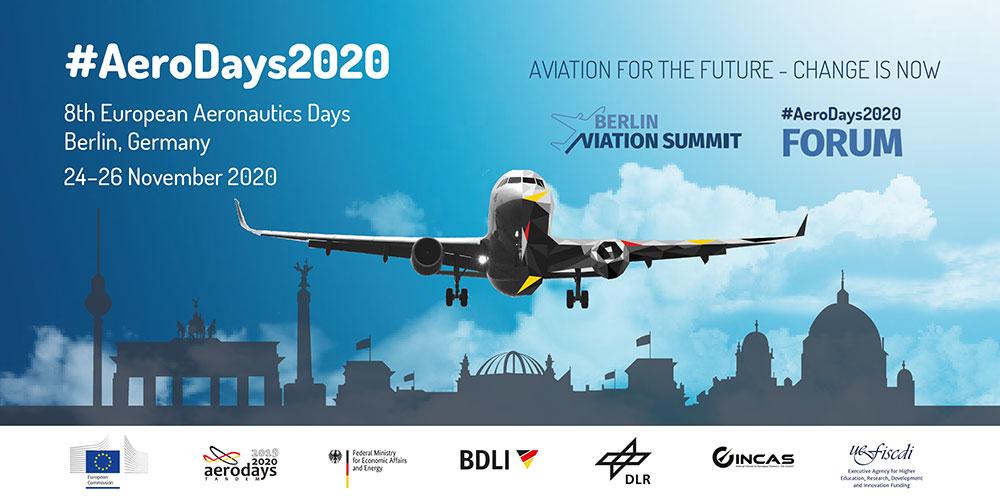 AeroDays2020: Berlino, 24-26 Novembre