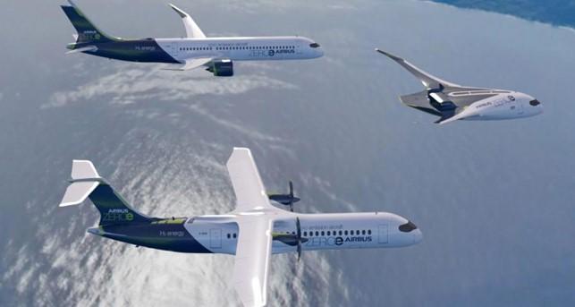 ZEROe: la visione di Airbus sul primo aereo commerciale al mondo a zero emissioni e alimentato ad idrogeno