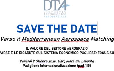 SAVE THE DATE: Verso il Mediterranean Aerospace Matching