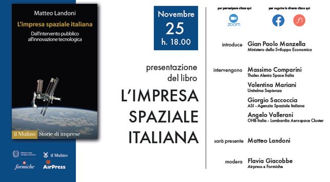L'impresa spaziale italiana. Il dialogo promosso dal Mise