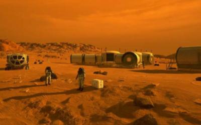 Come produrre metano ed ossigeno su Marte