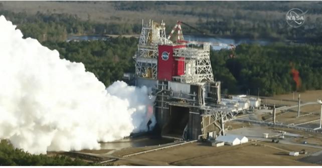 Interrotto dopo solo 67 secondi lo Static fire di SLS. Cosa è successo?
