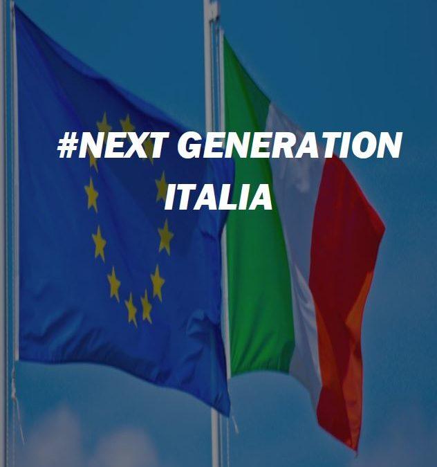 NEXT GENERATION ITALIA. Piano Nazionale di Ripresa e Resilienza