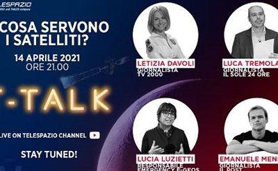 Al via sul canale YouTube i T-Talk di Telespazio