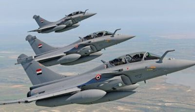 La francese Dassault esulta per i Rafale all'Egitto (finanziato dalle banche francesi)