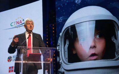 Space Dream: L' intervento dell'amministratore delegato di Leonardo Alessandro Profumo alla premiazione
