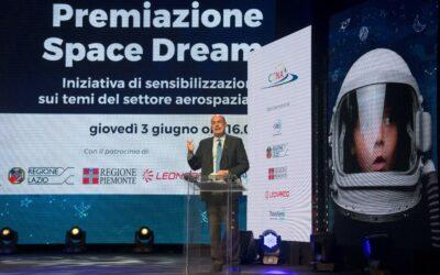 Space Dream: L'intervento del Presidente della Regione Lazio Nicola Zingaretti alla Premiazione