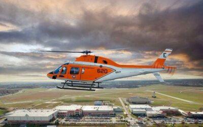 Leonardo consegna il primo elicottero TH-73A alla U.S. Navy