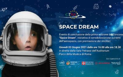Evento di conclusione della prima edizione del Concorso Space Dream