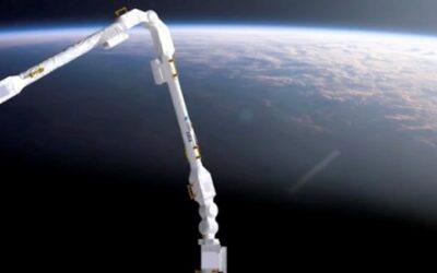 Lanciato il nuovo braccio robotico europeo per la Stazione spaziale