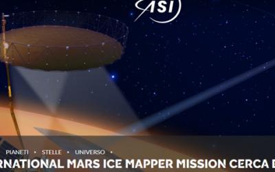 L'International Mars Ice Mapper Mission cerca esperti