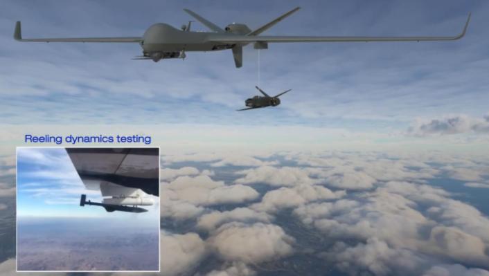 General Atomics punta sul lancio (e recupero) di droni in volo