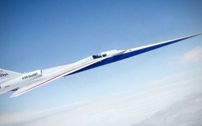 L'X-59 Quiet SuperSonic Technology (QueSST) della NASA inizia ad assomigliare ad un aereo reale
